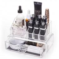 AVERY® Makeup Organizer med 1 låda + top