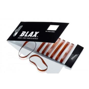 BLAX Snagfree Hårsnodd 4mm - Amber Brun