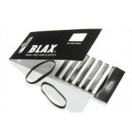 BLAX Snagfree Hårsnodd 4mm - Svart