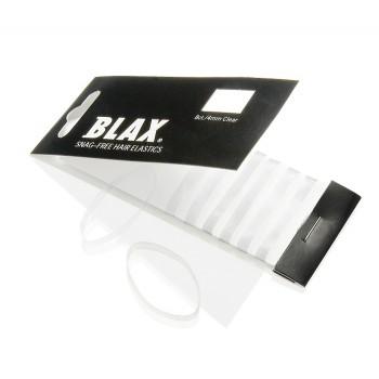 BLAX Snagfree Hårsnodd 4mm - Vit/Genomskinlig