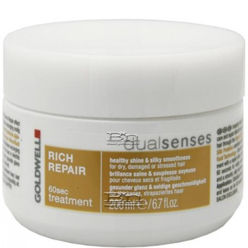 Goldwell DualSenses Rich Repair 60sec Treatment 200 ml.
