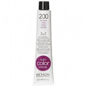 Revlon Nutri Color Creme tube No. 200 Burgundy 100 ml.