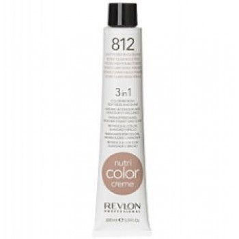 Revlon Nutri Color Creme tube No. 812 Light Pearly Beige Blond 100 ml.