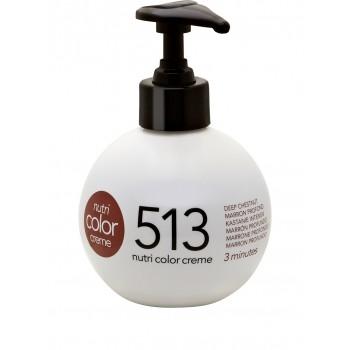 Revlon Färgbomb Nutri Color Creme 513 Deep Chestnut 250 ml.
