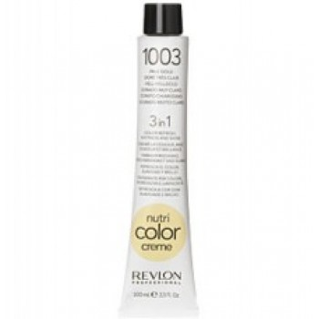 Revlon Nutri Color Creme tube No. 1003  Pale Gold 100 ml.