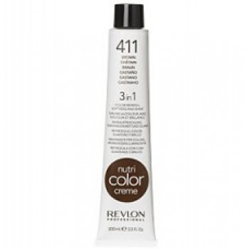 Revlon Nutri Color Creme tube No. 411 Brown 100 ml.