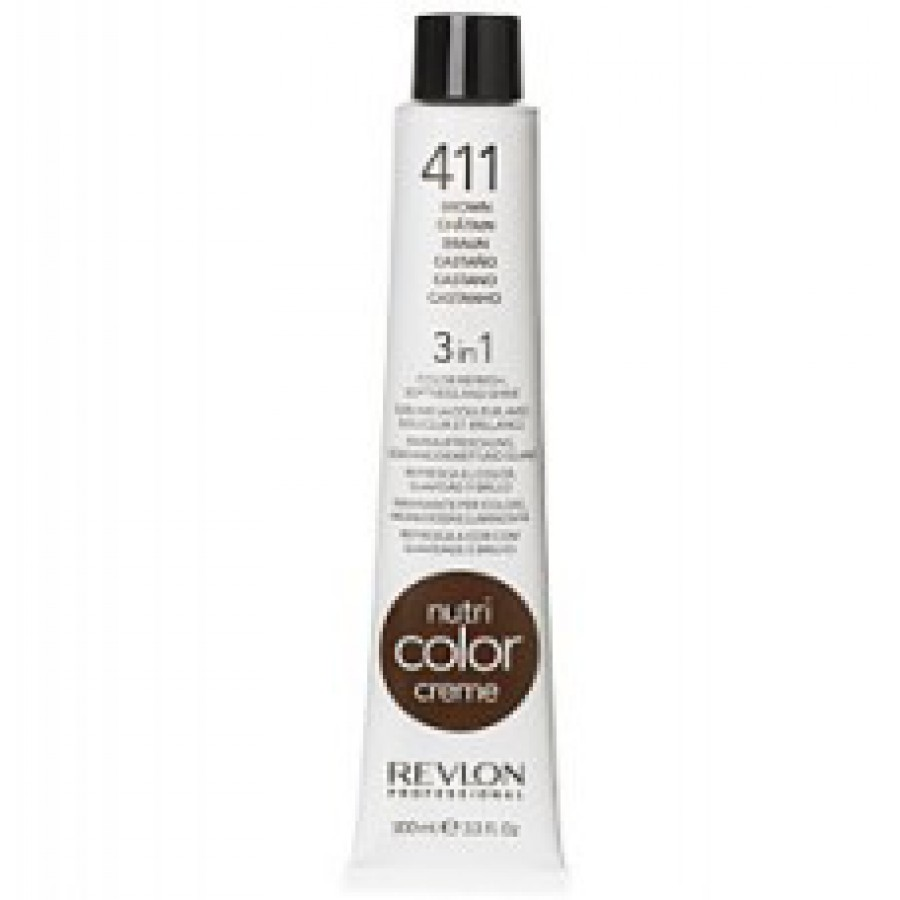 Revlon Nutri Color Creme tube No. 411 Brown 100 ml. - REA 50-70%!