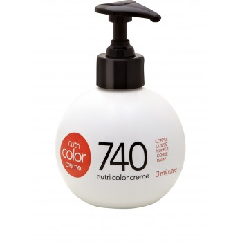 Revlon FärgbombNutri Color Creme 740 Copper 250 ml.
