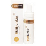 Sunjunkie Deliciously Dark Self Tanning Mousse 200 ml.