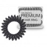 Premium Hårsnoddar svart- 3 stk