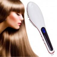 NASV Elektrisk plattborste - Plattång och hårborste i ett