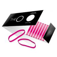 The O Hårsnoddar Pink - 10 stk